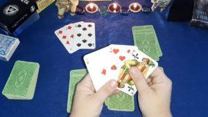 Предсказания будущего по 3 игральным картам